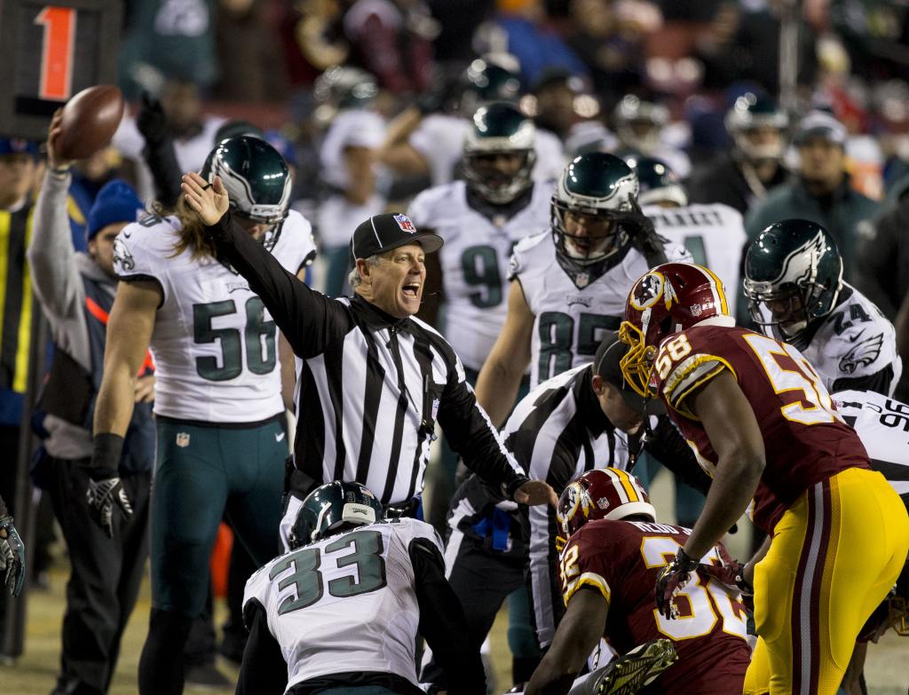 Eagles at Redskins 12/20/14