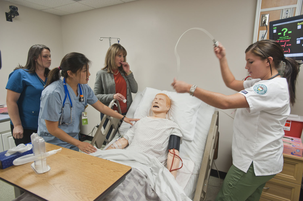 Nursing_simulation_lab_at_Hudson_Valley_Community_College